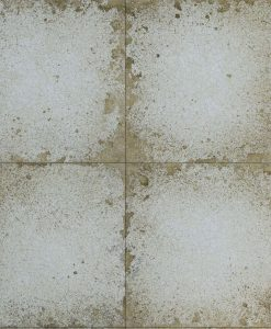 Lustre Tile Wallpaper from The Muse Collection by Zophany in Silver
