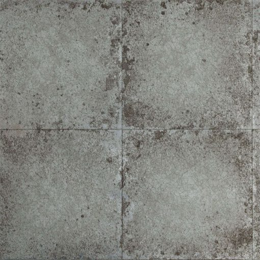 Lustre Tile Wallpaper from The Muse Collection by Zophany in Pewter
