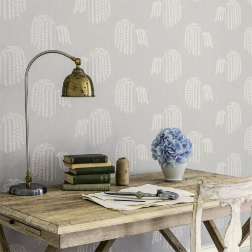 Bay Willow Wallpaper from Waterperry Wallpapers by Sanderson Home