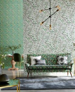 Chaconia Wallpaper from the Anthozoa Collection by Harlequin Wallpaper