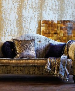 Eglomise Wallpaper from the Leonida Collection by Harlequin