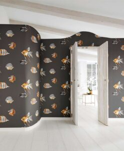 Kamanu Wallpaper from the Anthozoa Collection by Harlequin