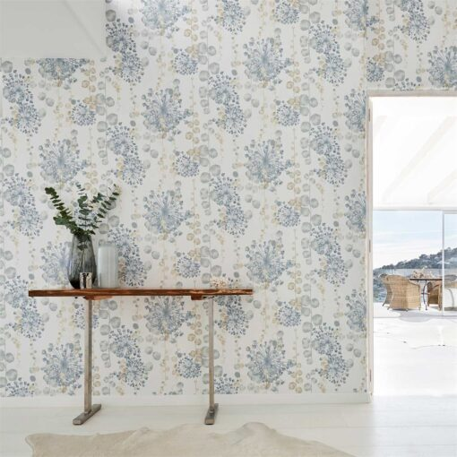 Moku Wallpaper from the Anthozoa Collection by Harlequin