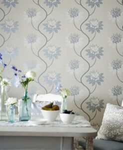 Eloise Wallpaper from the Purity Collection by Harlequin