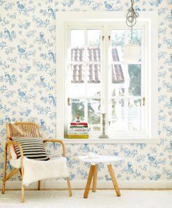 Sugar Tree wallpaper in Blue 106-01