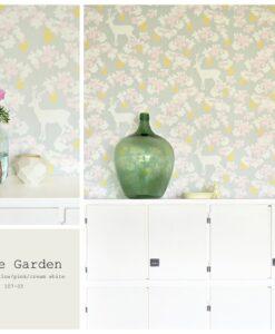 Apple Garden by Majvillan in Grey - information card