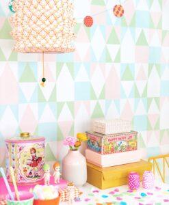 109- 04 Alice wallpaper by Majvillan in Pink