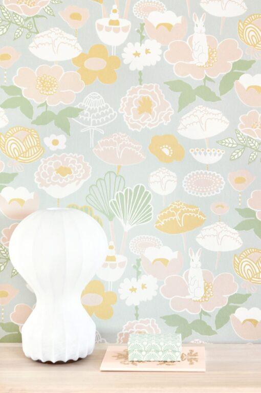 114-01 Little Light Wallpaper by Majvillan