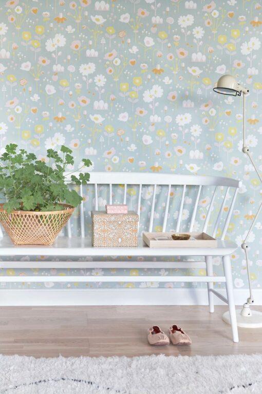 Bloom by Majvillan in Grey 121-01 A
