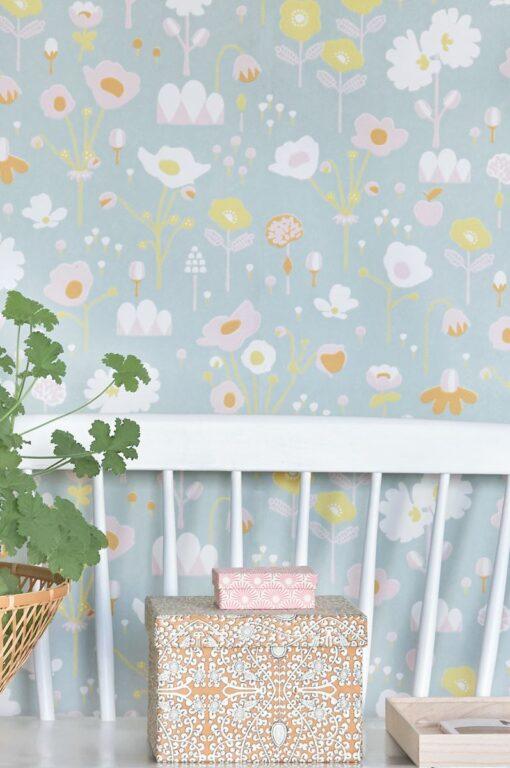 Bloom by Majvillan in Grey 121-01 D