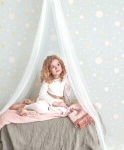 Confetti Wallpaper by Majvillan in Grey 117-01 A