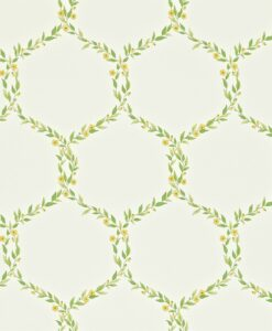 Fleur Trellis Wallpaper