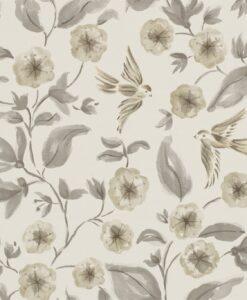 Bird Blossom Wallpaper