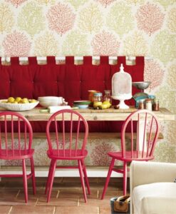 Coral reef Wallpaper from the Voyage of Discovery Collection