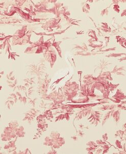 Aesops Fables Wallpaper from Caverley Papers by Sanderson Home