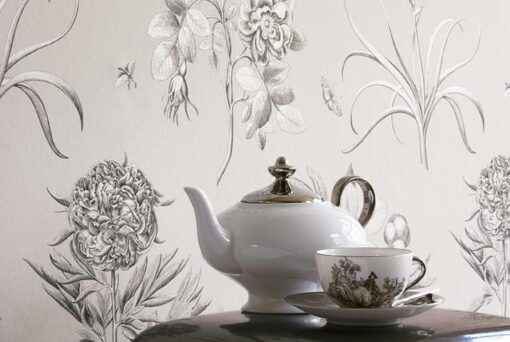 Etchings & Roses wallpaper