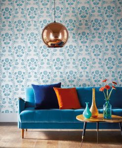 Lucerne Wallpaper from the Folia Collection by Harlequin