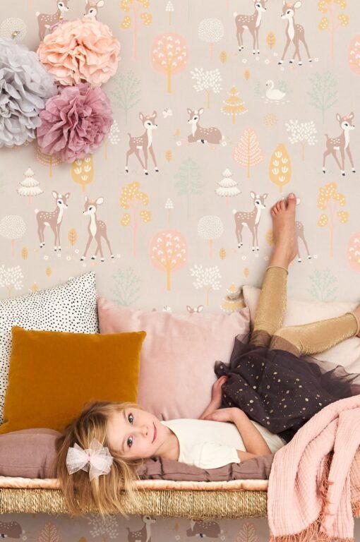 Golden Woods wallpaper by Majvillan