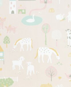 My Farm by Majvillan in Soft Pink