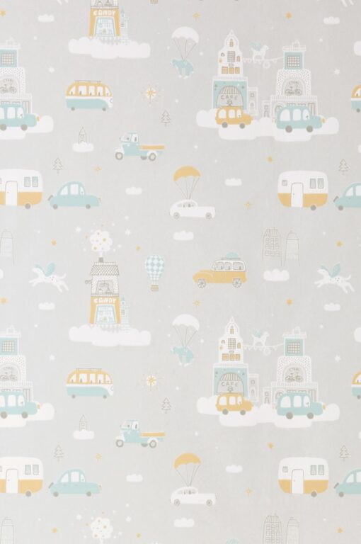 Above the Clouds in Soft Grey
