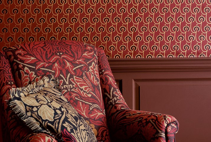 Red House Wallpaper by Morris & Co