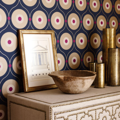 Starla Wallpaper from the Sojourn Collection - Close