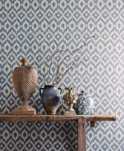 Surin Wallpaper from the Sojourn Collection by Sanderson