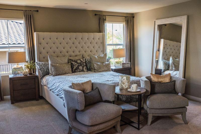 a zen bedroom