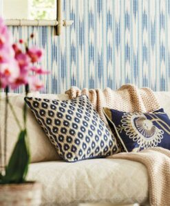Ishi wallpaper from the Caspian Collection