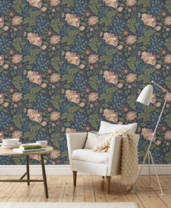 Ava Blue wallpaper by Sandberg