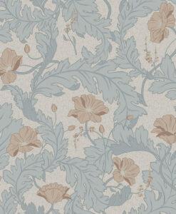Charlotta Wallpaper by Sandberg in Sky Blue