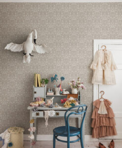 Emil Wallpaper by Sandberg in Blush