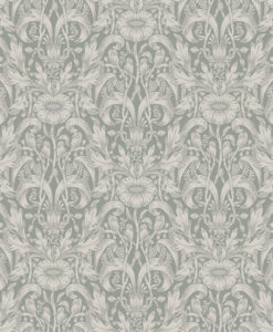 Emil Wallpaper by Sandberg in Garden Green