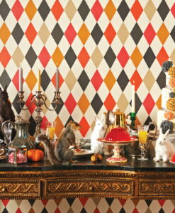 Punchinello Wallpaper from the Whimsical Collection by Cole & Son