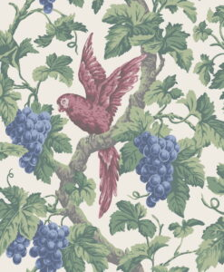 116/5018 Woodvale Orchard - Rose, Hyacinth & Forest on Parchment