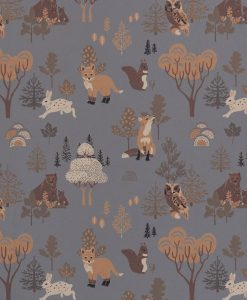 Deep Forest Wallpaper by Majvillan in Midnight Blue