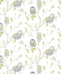 Little Owl wallpaper from the Book of Little Treasures by Harlequin in Kiwi