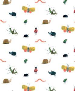 HLTF112635 Garden Friends Wallpaper by Harlequin