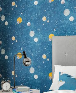 Out of this World Wallpaper from the Book of Little Treasures by Harlequin