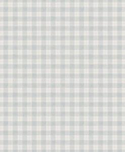 Herman Wallpaper in Misty Blue by Sandberg