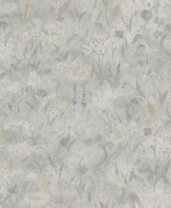 Tove Wallpaper in Misty Blue